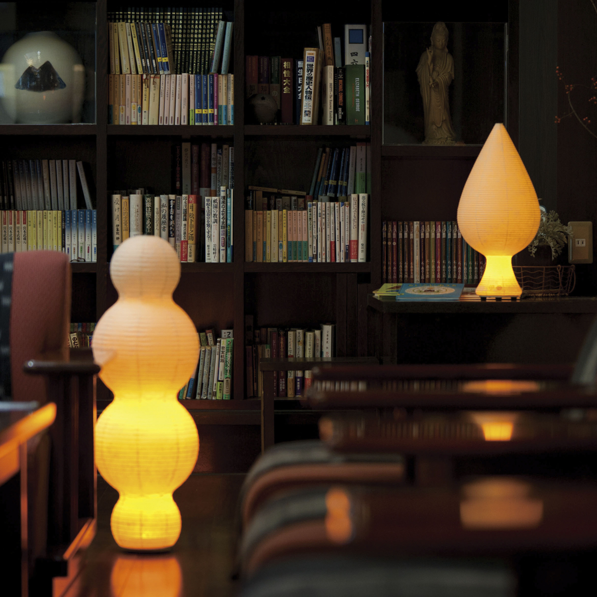 癒しの揺らぐ提灯式ランプ|深い癒しをもたらし、疲れた心身をリセット