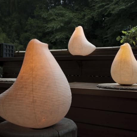 癒しの揺らぐ提灯式ランプ