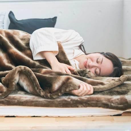 寝心地がまるで違う「毛布」