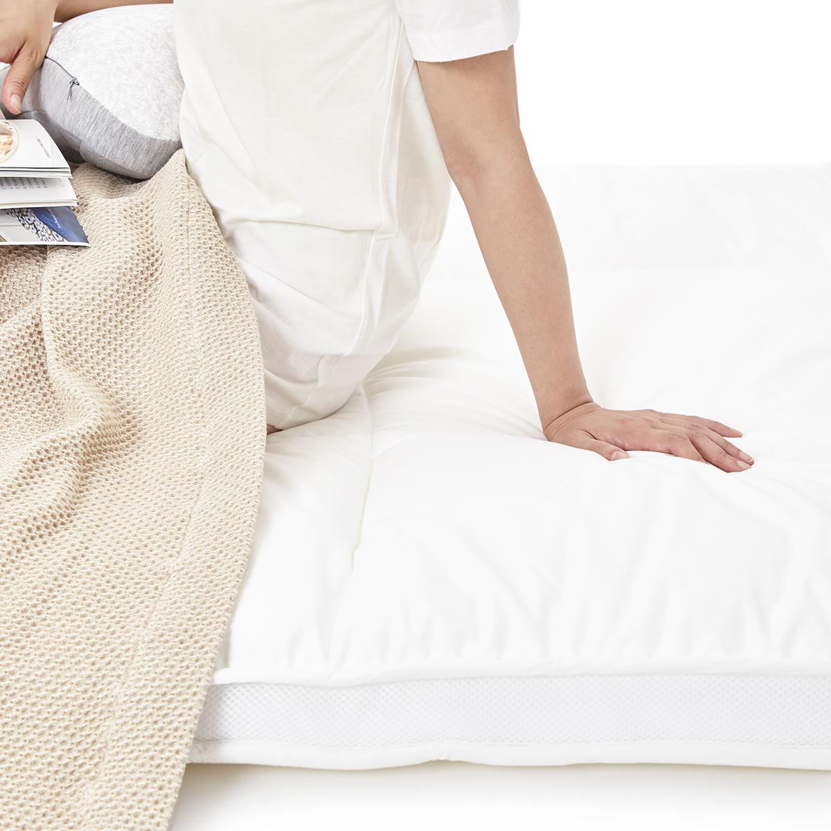 「朝から元気!」をくれる体圧分散マットレス | 整形外科の名医が考案、「柔硬2層構造」で体がラク