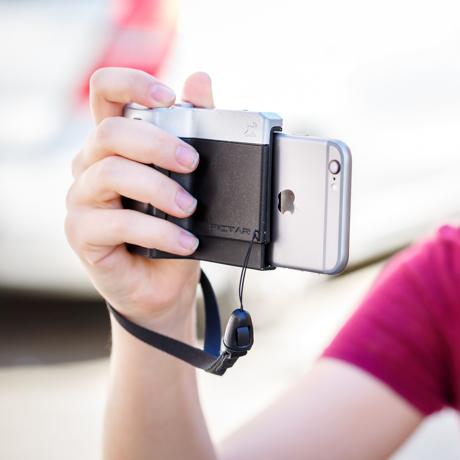 iPhone でもっと面白い写真撮りたい!|片手で、カメラ機能がかんたんに使いこなせちゃう