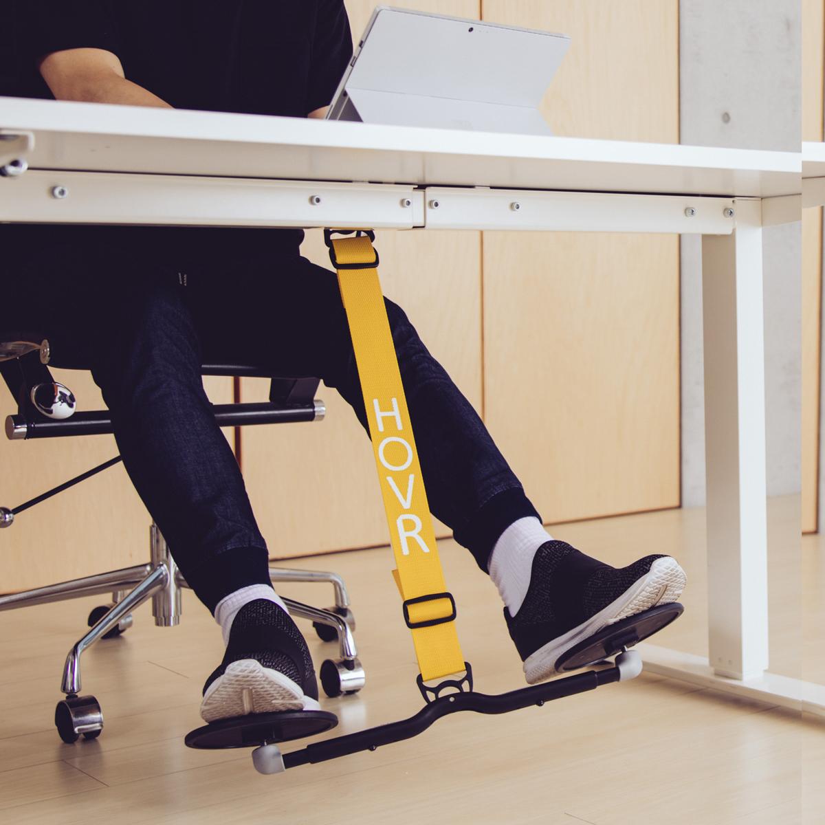 運動不足は、座りながら解消!|デスクでの5時間が、30分のウォーキングに