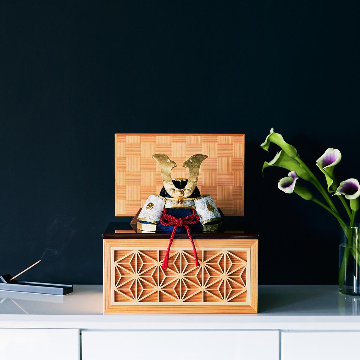 毎年のしあわせを願う「五月人形」 | リビングに飾れる「プレミアムコンパクト五月人形」