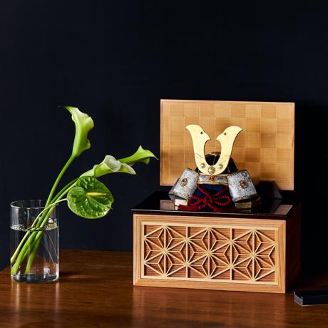 毎年のしあわせを願う「リビング五月人形」|日本の伝統工芸をコンパクトモダンに