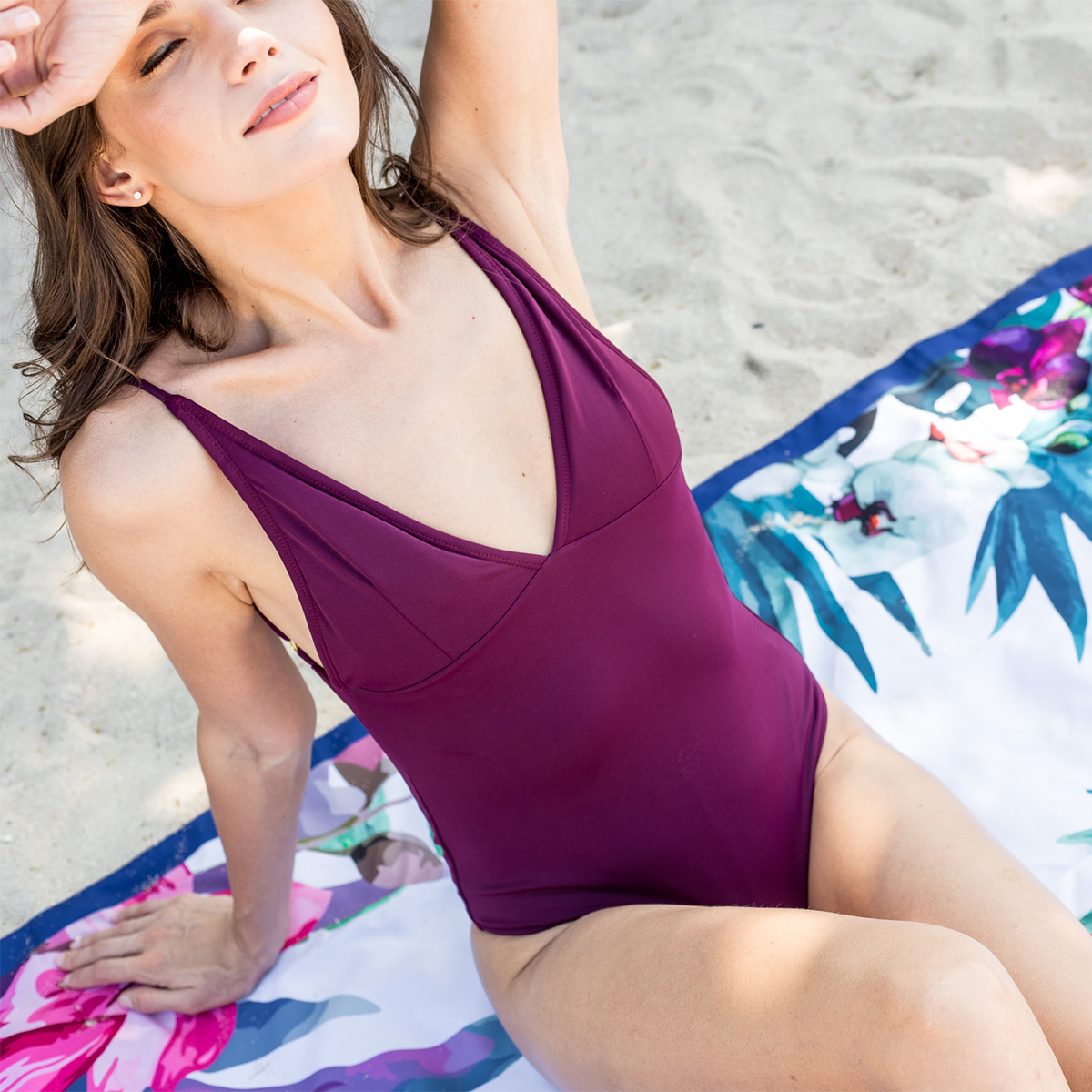 砂がつかないビーチブランケット