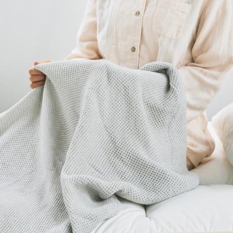 「熟睡」を追求したタオルケット