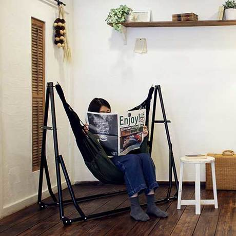 みんなの憧れ『ハンモック』|簡単組立で、自分だけのリラックス空間作り