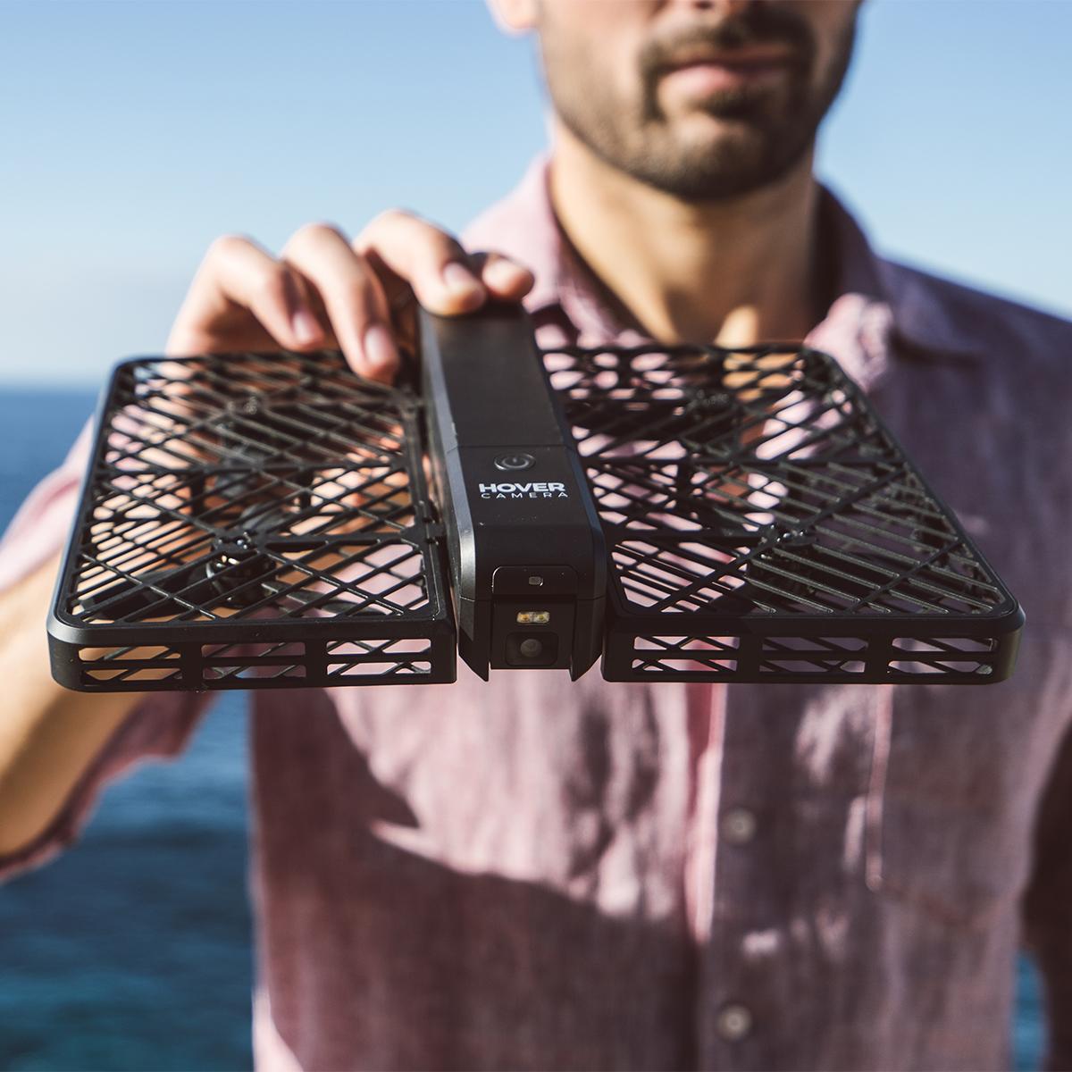 """""""空に浮く""""あなたの専属カメラマン あなただけのPVを撮影し、自動編集してくれる"""