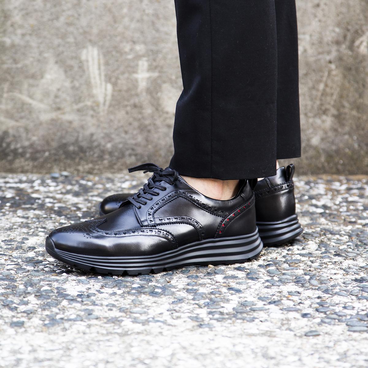 自由な発想を「紳士靴」にも!