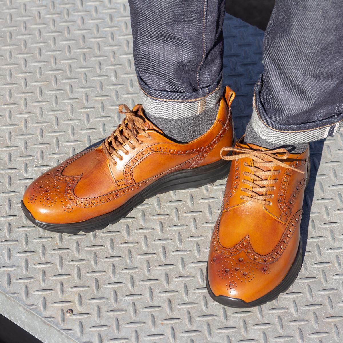 自由な発想を「紳士靴」にも!|三陽山長の新作ドレススニーカー今春発売