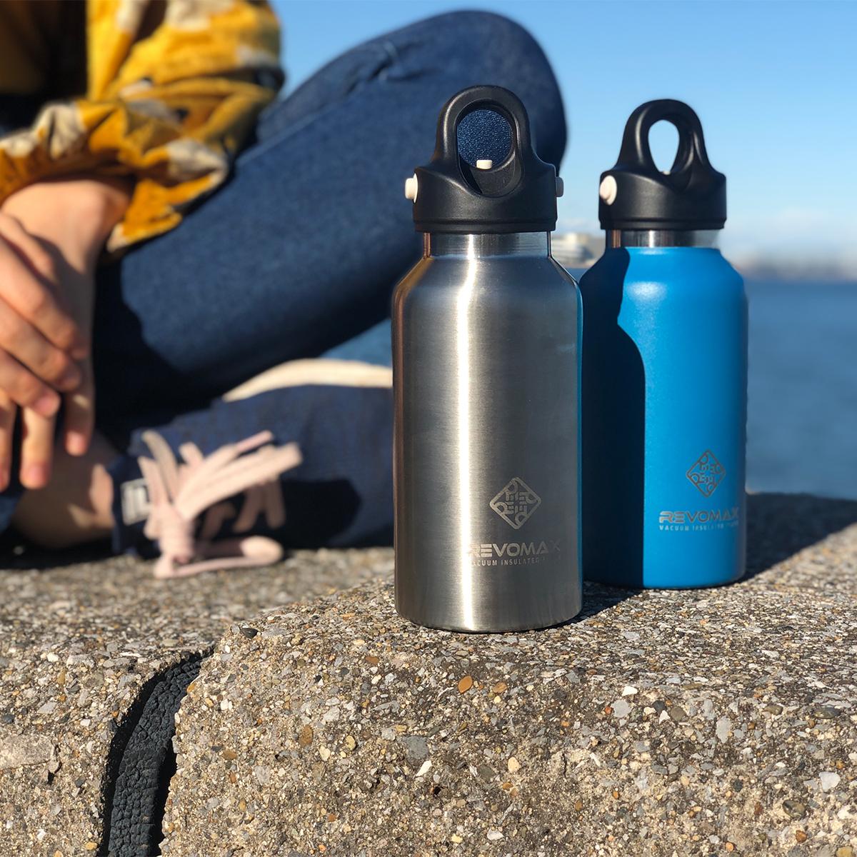 「指3本」で密閉できる魔法瓶|炭酸もビールも36時間保冷、保温も18時間OK