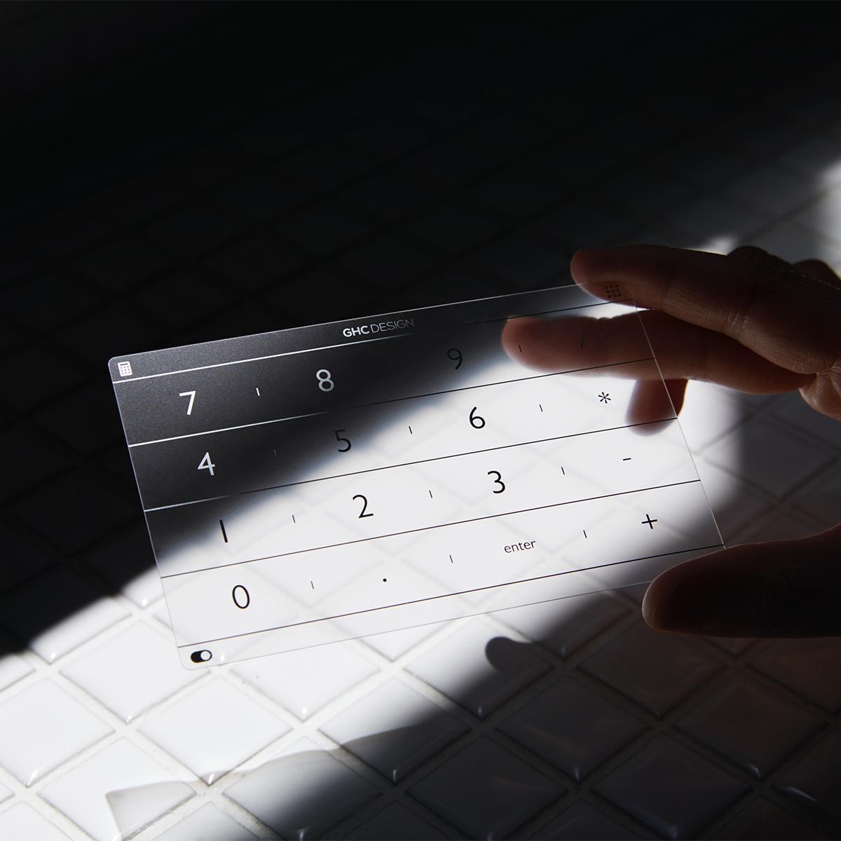 充電不要の「貼るだけテンキー」 | 指1本でいつものページにもすぐ飛べる