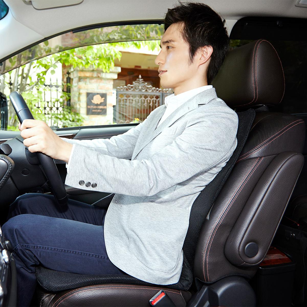サービスエリアいらずの「運転席」 | 置くだけで、運転中ずっと、腰・背中・お尻がラク