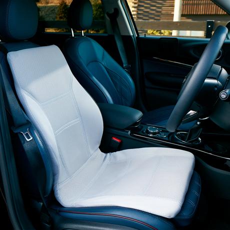 サービスエリアいらずの「運転席」|置くだけで、運転中ずっと、腰・背中・お尻がラク