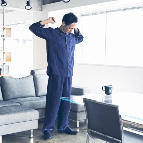 """医師が開発、理想の""""清潔パジャマ"""" 柔らかガーゼにうっとり、ニオイを元から分解"""