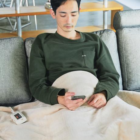 """寒い朝の""""幸せな寝起き""""について考えた電気毛布"""