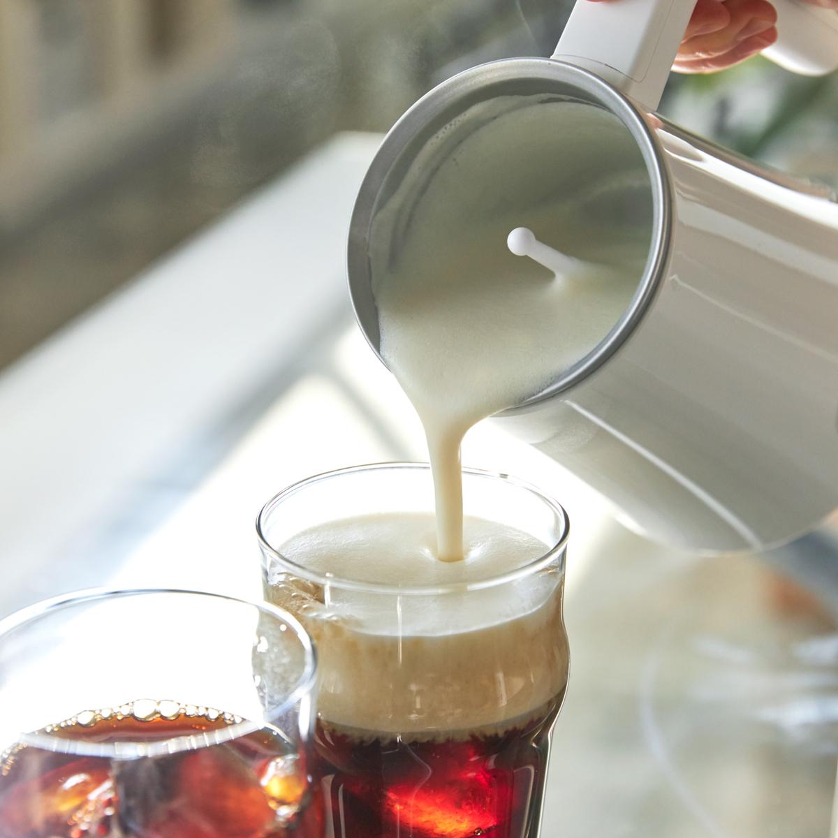 """「泡」に感動!自宅で""""とろけるカプチーノ時間""""   ふんわりクリーミーなフォームミルクに思わずため息"""