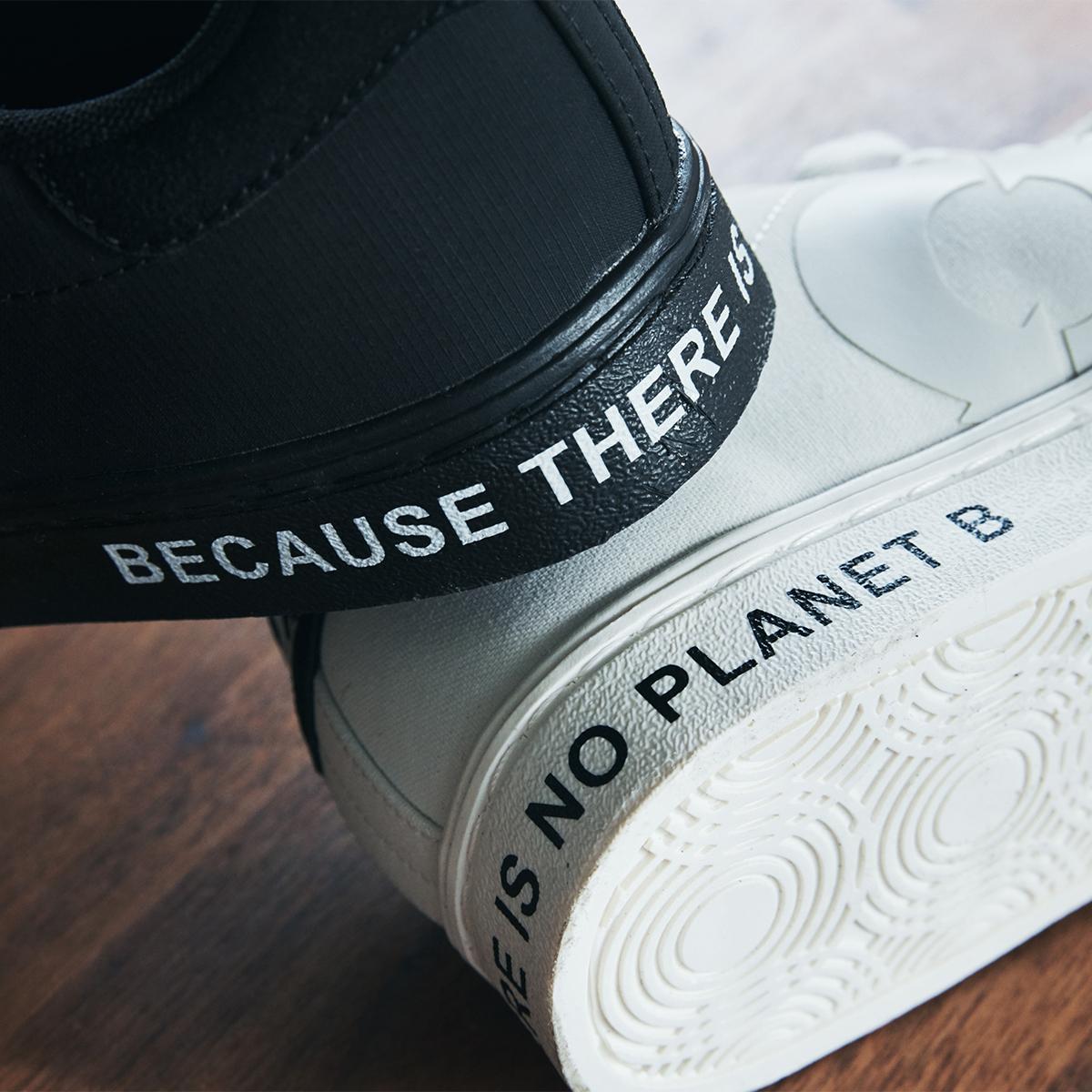 """地球をきれいにする「スニーカー」   救い出された""""ゴミ""""が、繊維に生まれ変わる"""