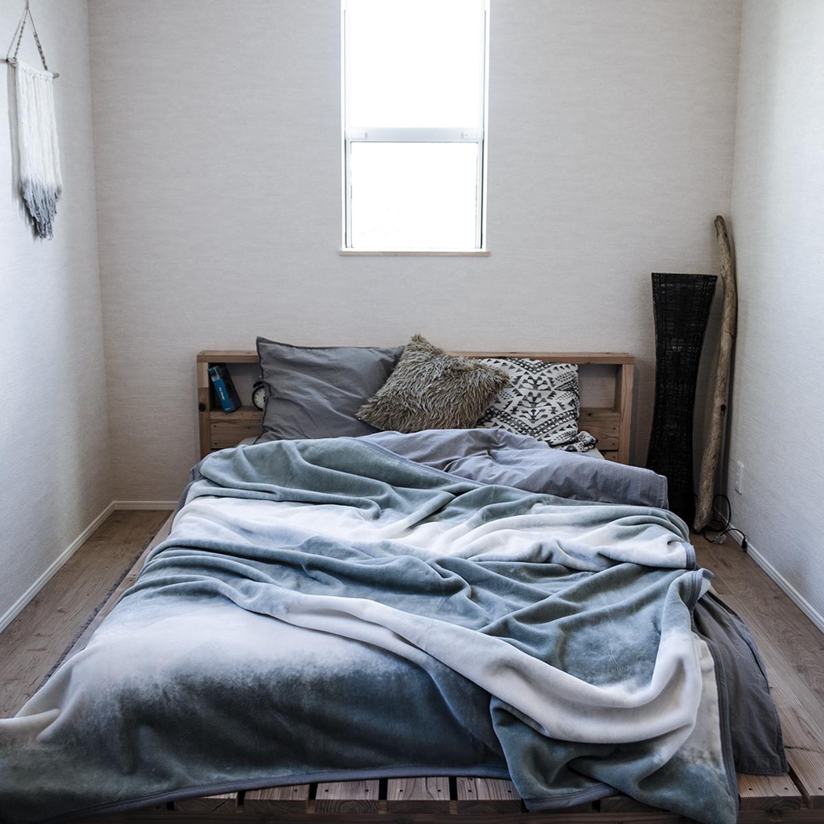 1枚の寝具でかなえる、おしゃれで心地よい寝室