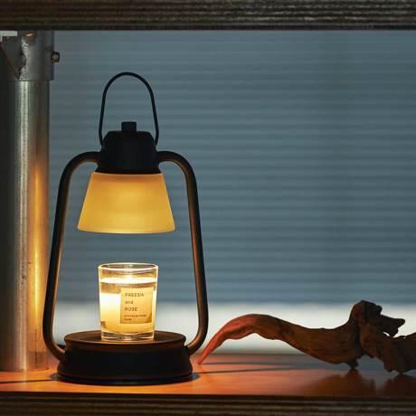 """就寝1時間前の""""とろける""""スイッチ 火を使わずに、キャンドルの香りと灯りが広がる"""
