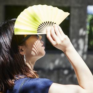 おしゃれな京扇子でwithマスクの夏を粋に乗り切る